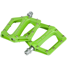 Cube RFR Flat Race Pedals, green